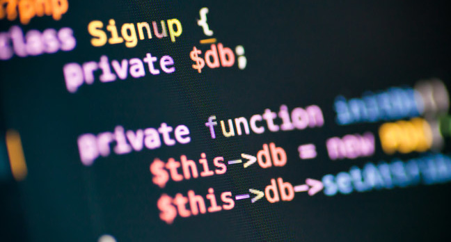 PHP, image via Shutterstock