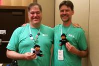 Microsoft's Dustin Campbell and Mads Torgersen, C# Program Managers