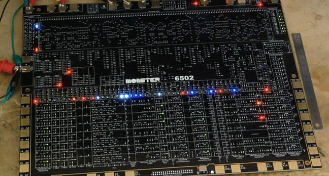 Monster 6502 board