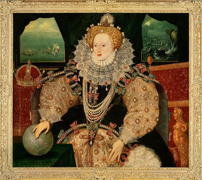 The Armada Portrait of Elizabeth I. Pic: Royal Museums Greenwich