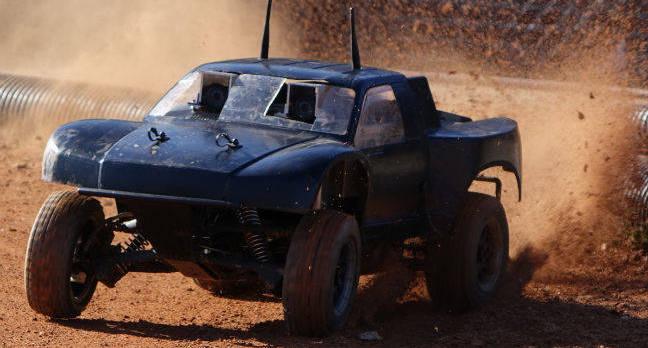 robot rally car