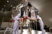 OSIRIS-REx during construction. PIC: NASA