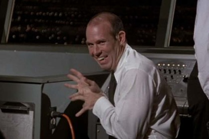 Screenshot from the movie Airplane!