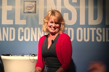 Diane M. Bryant, executive vice president and general manager of Intel's Data Center Group