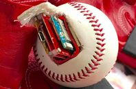 Internet-enabled baseball