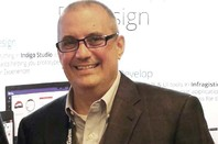 Jason Beres, Infragistics Senior VP, Developer Tools. Pic by Tim Anderson
