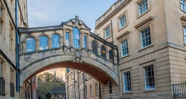 Oxford campus photo by shutterstock