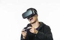 VR gamer, image via Shutterstock
