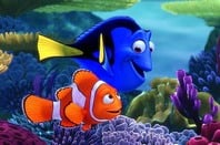 "Nemo and Dory ""just keep swimming"". Photo copyright Walt Disney Studios Motion Pictures"