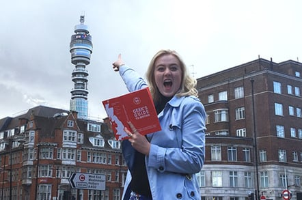 Geeks Guide, BT Tower, photo The Register