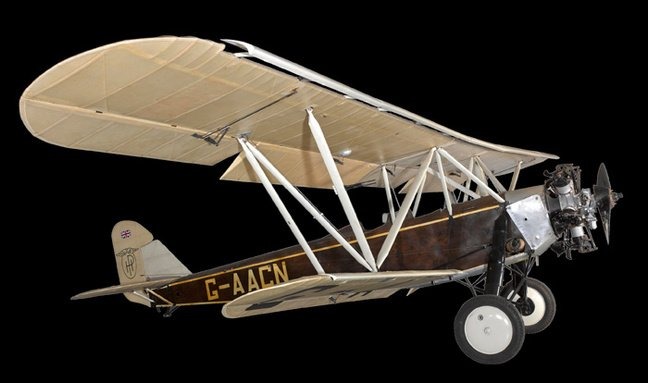 The Gugnunc aircraft. Pic: Science Museum