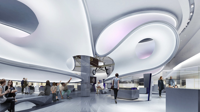 Architect's impression of the finished gallery. Pic: Science Museum