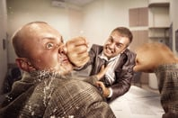 Bare knuckle fight, photo via Shutterstock