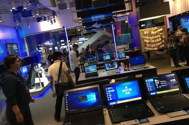 Intel experience store Taipei