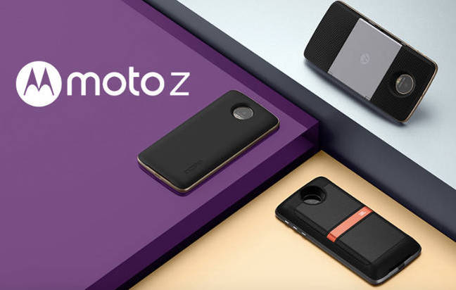 Moto Z handsets