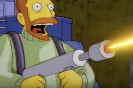 Hank Scorpio from The Simpsons