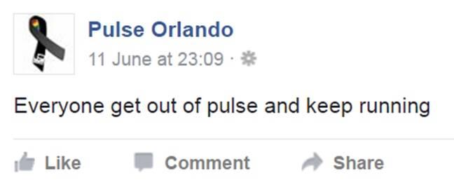 Pulse warning