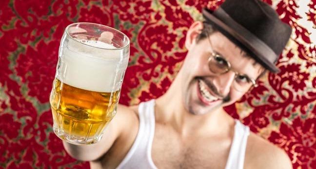 Man drinks Beer. Photo by shutterstock