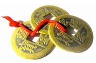 Chinese Fen Shui good luck coins