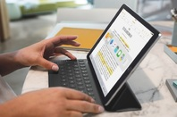 Nine inch iPad Pro and Smart Keyboard