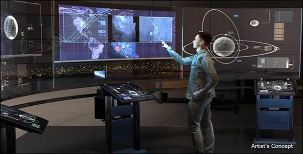 DARPA's futuristic space command vision