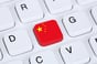China keyboard, image via Shutterstock