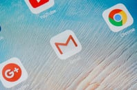 Gmail icon photo by I AM NIKOM via Shutterstock