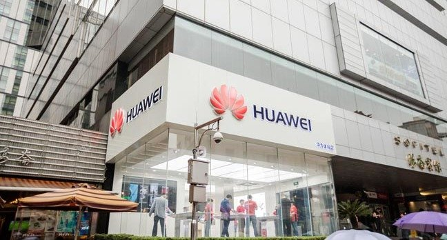 huawei store in shanghai , china   http://www.shutterstock.com/gallery-511162p1.html?cr=00&pl=edit-00 by J. Lekavicius /Shutterstock - EDITORIAL USE ONLY