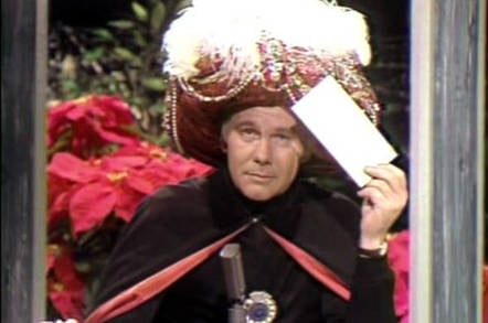 Johnny Carson as Carnac