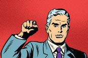 Communist fist, photo via Shutterstock