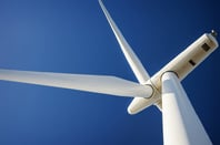 Wind turbine, image via Shutterstock