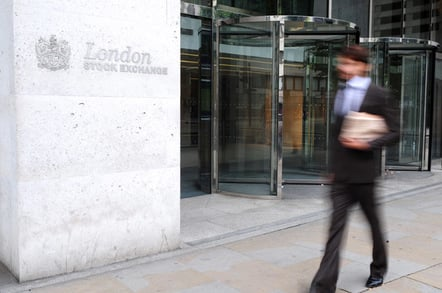 London stock exchange, photo via Shutterstock