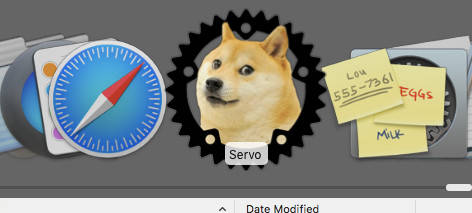 Servo browser icon