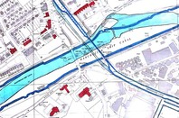 Period Map, showing River Irwell and modern ship canal