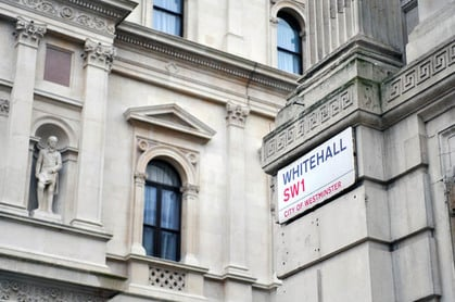 editorial only image of Whitehall. Pic Daniel Gale/Shutterstock