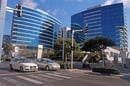 High-tech startup-rich neighbourhood Herzliya Pituach, Israel. Pic by InnaFelker, editorial use only via Shutterstock