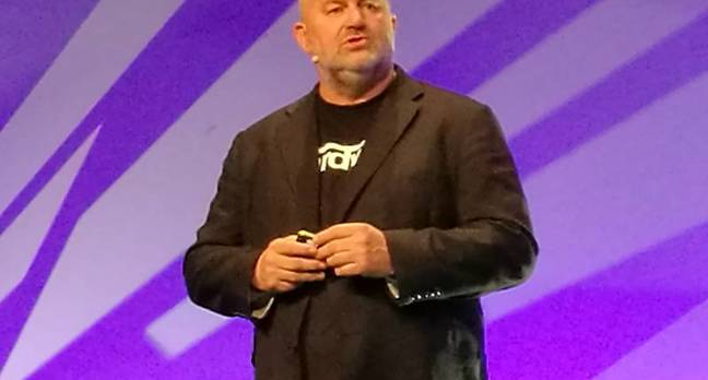 Dr Werner Vogels, Amazon CTO, speaking in London