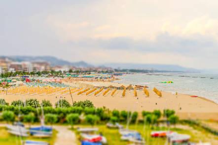 Pescara Beach, Italy