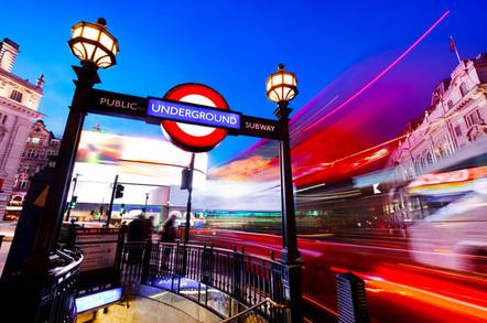 London Undeground, photo by PHOTOCREO Michal Bednarek via Shutterstock