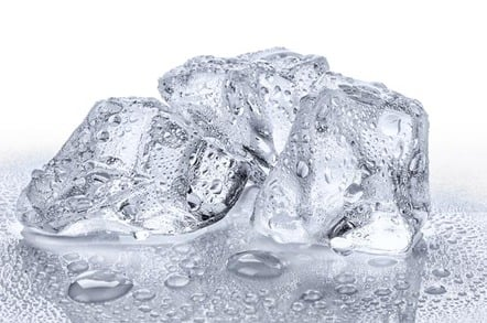 Ice block. Photo by Shutterstock