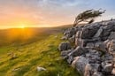 Vibrant Evening Sunset At Twistleton Scar In North Yorkshire, UK. Photo by Shutterstock