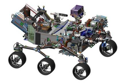 NASA CAD of Mars 2020 Rover