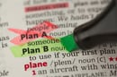 Plan b, image via Shutterstock