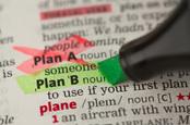 Plan b, image via Shutterstock