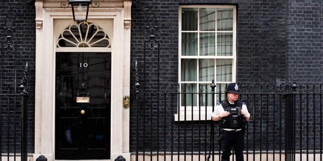 Policeman number 10, photo by pcruciatti via Shutterstock