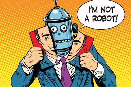 Robot as person illustration via Shutterstock