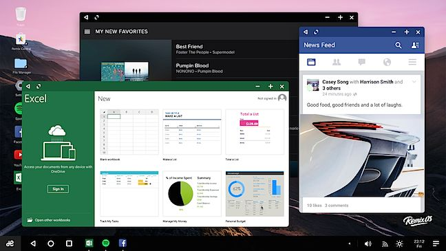 Remix chomps Marshmallow, updates its Android for PCs