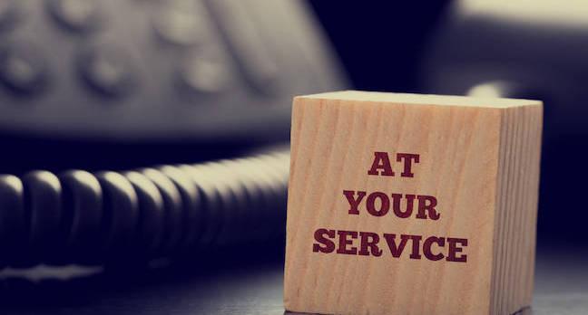 Customer service motivation cube