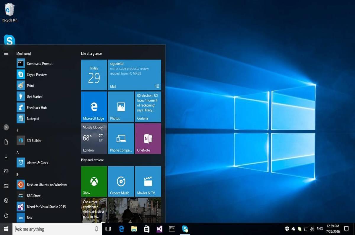 Windows 10 Pro Anniversary Update tweaked to stop you ...