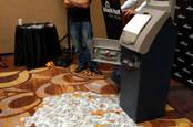 ATM money shot